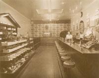 Peacock's Ice Cream Parlor
