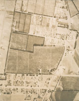 Aerial photography of fields