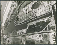 Air view of Harbor Boulevard & Channel Islands
