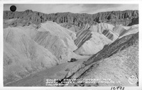 Golden Canyon, Funeral Mts., Death Valley National Monument, California