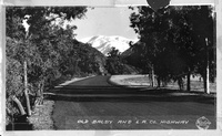 Old Baldy and L.A. County Highway