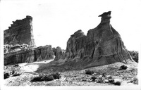 Camel Rock, Red Rock Canyon near Mojave, Calif.