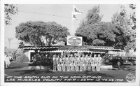 At the South End of the Grandstand Los Angeles Country Fair - Sept. 13 to 29, 1940