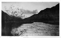 Evening on Owen's River near Bishop, Calif.