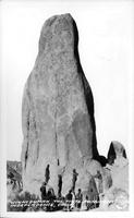 Winnedumah, the Piute Monument, Independence, Calif.