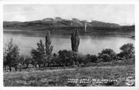 Mono Lake and Craters, Mono County, Calif.