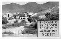 Death Valley Scotty's Castle - California