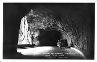 Tunnel Scene - Mt. Carmel Highway Zion National Park Utah