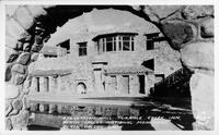 Recreation Hall, Furnace Creek Inn, Death Valley National Monument, Death Valley, Calif