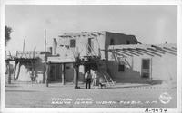 Typical Home, Santa Clara Indian Pueblo, N.M.