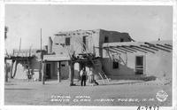 Typical Home, Santa Clara Indian Pueblo, New Mexico