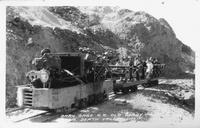 Baby Gage R.R. Old Borax Mines, Death Valley, Calif.