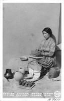 Severa Tafoya Santa Clara Indian Pottery Maker, N.M.