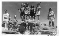 Jemez Ceremonial Dancers, New Mexico