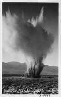 Blasting Open Salt Pools Death Valley, California