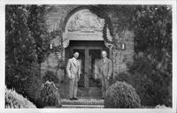The President and Secretary of Glen Abbey Memorial Park