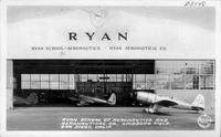 Ryan School of Aeronautics and Aeronautical Co., Lindberg Field, San Diego, Calif.