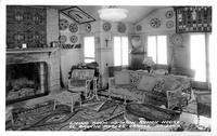 Living Room in Main Ranch House, El Rancho Robles, Oracle, Arizona