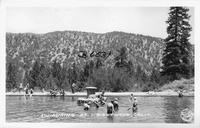 Swimming at Wrightwood, Calif.