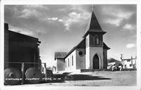 Catholic Church, Taos, N.M.