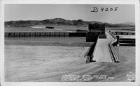 Imperial Dam on the Colorado River from the California Side