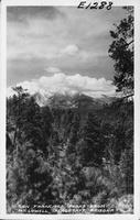 San Francisco Peaks from Mt. Lowell, Flagstaff, Arizona