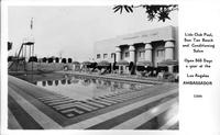 Lido Club Pool Los Angeles Ambassador