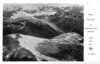Wild Terrain of Southeastern Alaska from the Air