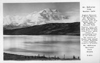 Mt.Mckinley from Wonder Lake Mt. McKinley National Park Alaska