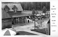 The Snack Bar at Peter Pan Rancho Big Bear City California