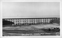The Gaviota Bridge and Beach Gaviota, California