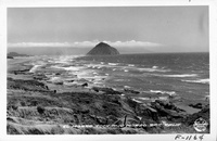 El Morro Rock and Morro Bay, Calif.