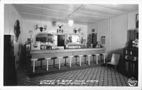 Hardy's bar and Cafe Baker, California