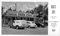 Dick's Cafe on U.S. Highways 6 and 395 Olancha Calif.