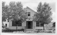 Entrance to Mono County Hospital, Bridgeport, California