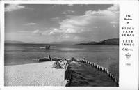 The Harbor at Bijou Park Beach, Lake Tahoe, California