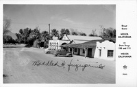 Street Scene Mecca California on State Hwys 195 and 111