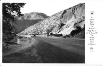 A Scenic Spot along the Famous Ridge Route U.S. Hwy. 99 the Inland Route thru California