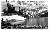 Lake Dorothy Back Country from Convict Lake, Mono County, California