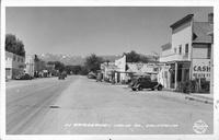 In Bridgeport, Mono Co. California
