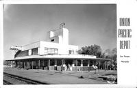 Union Pacific Depot Las Vegas Nevada
