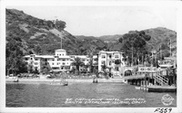 St. Catherine Hotel, Avalon, Santa Catalina Island, Calif.