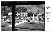 The Swimming Pool at La Quinta Hotel La Quinta California