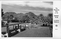 The Swimming Pool at the Desert Club La Quinta California