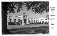 Chaffey Union High and College Library Ontario Calif.