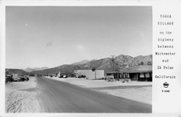 Yucca Village on the Highway between Whitewater and 29 Palms California
