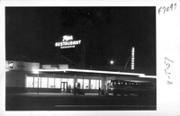The Tops Cafe and Greyhound Station on U.S. Highways 60, 70 & 99 Indio California