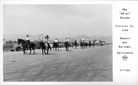 """The """"49'er"""" Parade February 21, 1948 Desert Hot Springs, California"""