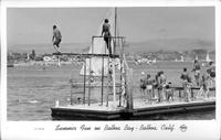 Summer Fun on Balboa Bay - Balboa, Calif.