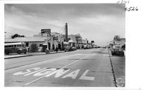 Coast Highway 101 through San Clemente California